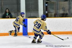 CIACT D3 Ice Hockey; #8 Newtown 7 vs. #9 Wilton 2 - Photo # 596