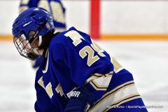 CIACT Ice Hockey D3 QFs; #1 Hand 5 vs. #8 Newtown 0 - Photo # 156