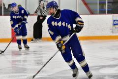CIACT Ice Hockey D3 QFs; #1 Hand 5 vs. #8 Newtown 0 - Photo # 164