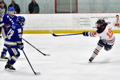 CIAC Ice Hockey; L.H.- H-K, Cogin. 8 vs Newtown 1 - Photo # (409)