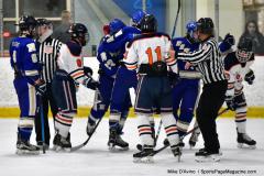 CIAC Ice Hockey; L.H.- H-K, Cogin. 8 vs Newtown 1 - Photo # (903)
