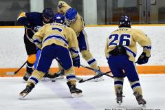 CIAC Ice Hockey; Focused on Newtown 7 vs. Mt. Everett 1 - Photo 1033