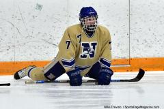 CIACT D3 Ice Hockey; #8 Newtown 7 vs. #9 Wilton 2 - Photo # 133