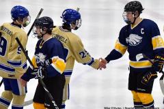 CIAC Ice Hockey; Focused on Newtown 7 vs. Mt. Everett 1 - Photo 1089