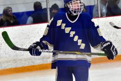 CIACT Ice Hockey D3 QFs; #1 Hand 5 vs. #8 Newtown 0 - Photo # 1173