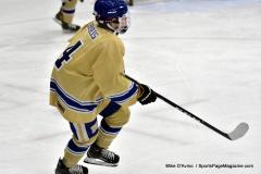 CIAC Ice Hockey; Focused on Newtown 7 vs. Mt. Everett 1 - Photo 1025