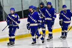 CIAC Ice Hockey; L.H.- H-K, Cogin. 8 vs Newtown 1 - Photo # (583)