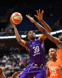 WNBA - Connecticut Sun 102 vs. Los Angeles Sparks 94 (44)