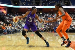 WNBA - Connecticut Sun 102 vs. Los Angeles Sparks 94 (51)