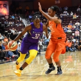 WNBA - Connecticut Sun 102 vs. Los Angeles Sparks 94 (55)