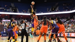WNBA - Connecticut Sun 102 vs. Los Angeles Sparks 94 (56)