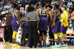 WNBA - Connecticut Sun 102 vs. Los Angeles Sparks 94 (70)