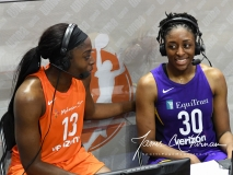 WNBA - Connecticut Sun 102 vs. Los Angeles Sparks 94 (75)