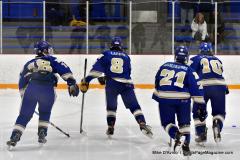 CIACT Ice Hockey D3 QFs; #1 Hand 5 vs. #8 Newtown 0 - Photo # 103