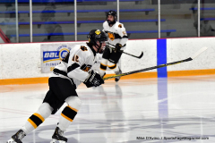 CIACT Ice Hockey D3 QFs; #1 Hand 5 vs. #8 Newtown 0 - Photo # 013