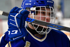 CIACT Ice Hockey D3 QFs; #1 Hand 5 vs. #8 Newtown 0 - Photo # 065