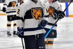 CIACT Ice Hockey D3 QFs; #1 Hand 5 vs. #8 Newtown 0 - Photo # 1011
