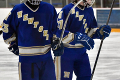 CIACT Ice Hockey D3 QFs; #1 Hand 5 vs. #8 Newtown 0 - Photo # 1012