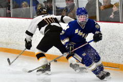 CIACT Ice Hockey D3 QFs; #1 Hand 5 vs. #8 Newtown 0 - Photo # 1025