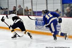 CIACT Ice Hockey D3 QFs; #1 Hand 5 vs. #8 Newtown 0 - Photo # 1038