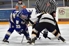 CIACT Ice Hockey D3 QFs; #1 Hand 5 vs. #8 Newtown 0 - Photo # 1050