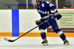 CIACT Ice Hockey D3 QFs; #1 Hand 5 vs. #8 Newtown 0 - Photo # 1065