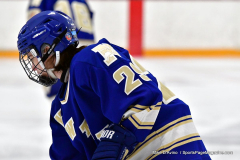 CIACT Ice Hockey D3 QFs; #1 Hand 5 vs. #8 Newtown 0 - Photo # 156