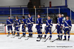 CIACT Ice Hockey D3 QFs; #1 Hand 5 vs. #8 Newtown 0 - Photo # 211