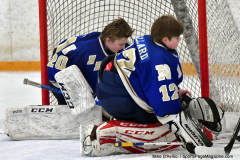 CIACT Ice Hockey D3 QFs; #1 Hand 5 vs. #8 Newtown 0 - Photo # 213