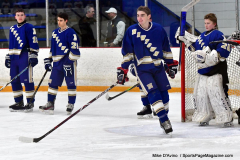 CIACT Ice Hockey D3 QFs; #1 Hand 5 vs. #8 Newtown 0 - Photo # 225