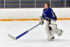 CIACT Ice Hockey D3 QFs; #1 Hand 5 vs. #8 Newtown 0 - Photo # 256