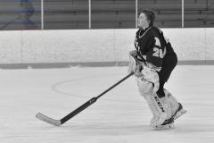 CIACT Ice Hockey D3 QFs; #1 Hand 5 vs. #8 Newtown 0 - Photo # 257