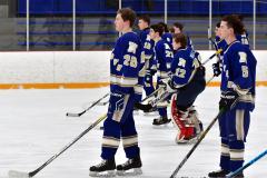 CIACT Ice Hockey D3 QFs; #1 Hand 5 vs. #8 Newtown 0 - Photo # 264