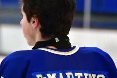 CIACT Ice Hockey D3 QFs; #1 Hand 5 vs. #8 Newtown 0 - Photo # 269