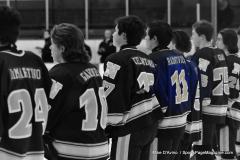 CIACT Ice Hockey D3 QFs; #1 Hand 5 vs. #8 Newtown 0 - Photo # 270