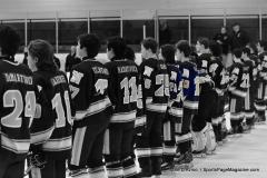 CIACT Ice Hockey D3 QFs; #1 Hand 5 vs. #8 Newtown 0 - Photo # 272