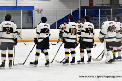 CIACT Ice Hockey D3 QFs; #1 Hand 5 vs. #8 Newtown 0 - Photo # 286