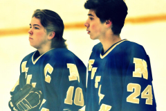CIACT Ice Hockey D3 QFs; #1 Hand 5 vs. #8 Newtown 0 - Photo # 287