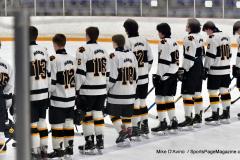 CIACT Ice Hockey D3 QFs; #1 Hand 5 vs. #8 Newtown 0 - Photo # 296