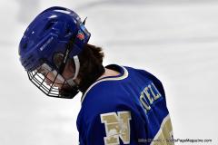 CIACT Ice Hockey D3 QFs; #1 Hand 5 vs. #8 Newtown 0 - Photo # 305