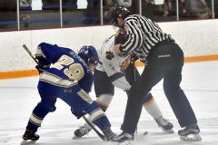 CIACT Ice Hockey D3 QFs; #1 Hand 5 vs. #8 Newtown 0 - Photo # 311
