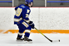 CIACT Ice Hockey D3 QFs; #1 Hand 5 vs. #8 Newtown 0 - Photo # 322