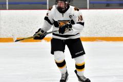 CIACT Ice Hockey D3 QFs; #1 Hand 5 vs. #8 Newtown 0 - Photo # 325