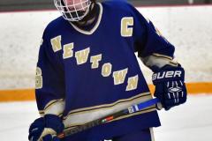 CIACT Ice Hockey D3 QFs; #1 Hand 5 vs. #8 Newtown 0 - Photo # 329