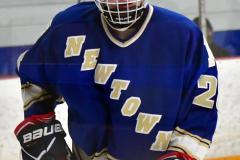 CIACT Ice Hockey D3 QFs; #1 Hand 5 vs. #8 Newtown 0 - Photo # 342