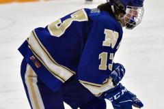 CIACT Ice Hockey D3 QFs; #1 Hand 5 vs. #8 Newtown 0 - Photo # 350