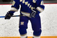 CIACT Ice Hockey D3 QFs; #1 Hand 5 vs. #8 Newtown 0 - Photo # 357
