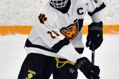 CIACT Ice Hockey D3 QFs; #1 Hand 5 vs. #8 Newtown 0 - Photo # 367