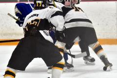 CIACT Ice Hockey D3 QFs; #1 Hand 5 vs. #8 Newtown 0 - Photo # 388