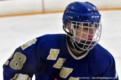 CIACT Ice Hockey D3 QFs; #1 Hand 5 vs. #8 Newtown 0 - Photo # 395